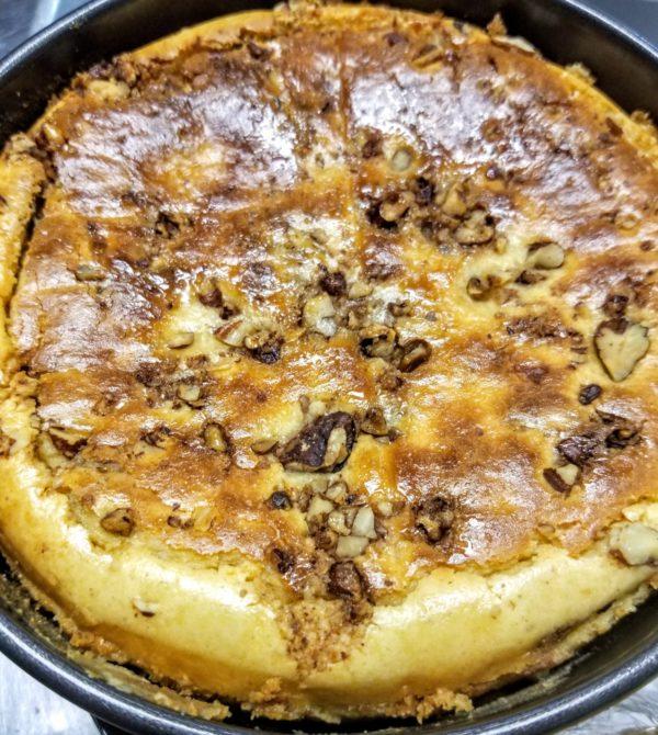 Sweet Potato Savory Cheesecake