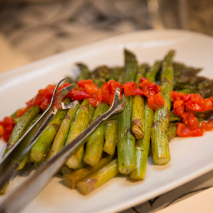 Smoked Asparagus Spears