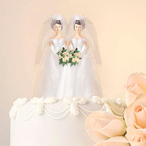 LGBT wedding cake