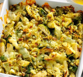 Brussels Sprouts Au Gratin (Vegetarian)