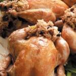 Crabmeat Cornish Hen