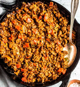 Keto Skillet Sloppy Joes